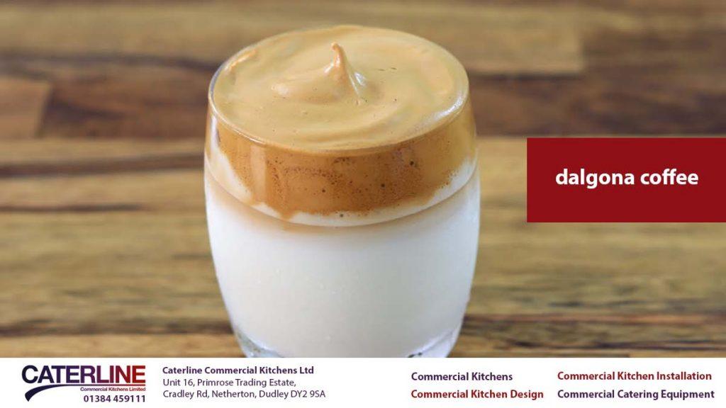 dalgona coffee - commercial kitchen design